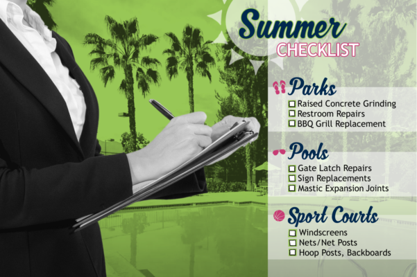 Summer maintenance checklist!