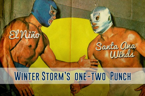 Winter storm's 1-2 punch.