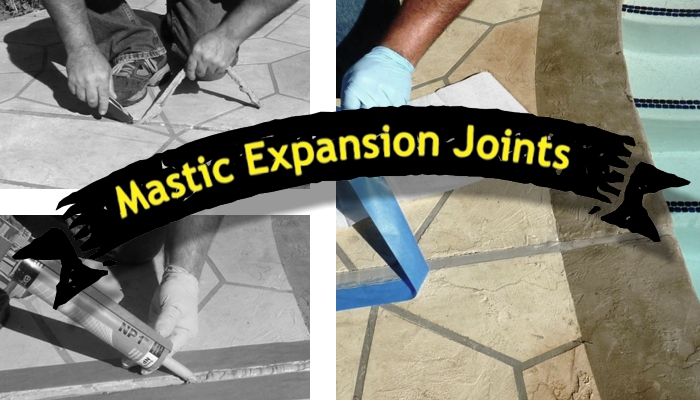 MASTIC EXPANSION JOINTS