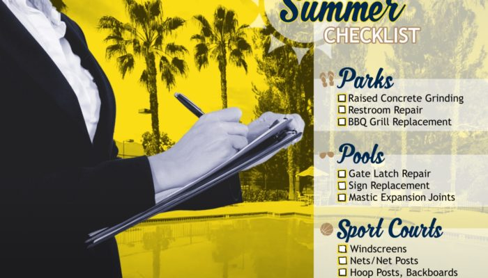 Summer Maintenance Checklist